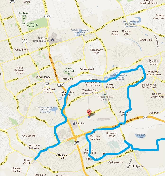 Austin City Limits Map  Bing Images